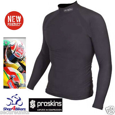 Motorcycle Proskins Moto long sleeve Base layer top under leathers compression