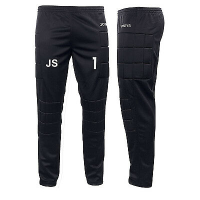 Joma Goalkeeper Padded Bottoms Goalie Pants Trousers Kids Junior Youth Adult