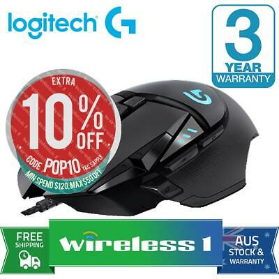 Brand New Logitech G502 Proteus Spectrum RGB Gaming Mouse