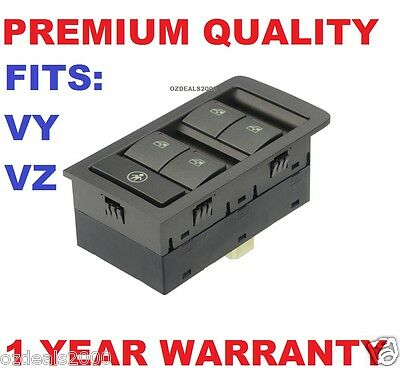 Power Master Window Switch FITS Holden Commodore VY VZ Grey Color - 13 pins NEW