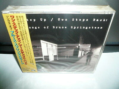 THE SONG OF BRUCE SPRINGSTEEN ONE STEP UP TWO STEPS BACK JAPAN 2 CD 3670yen NEW