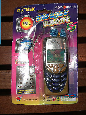 Vintage Toy Battery Operated Dummy Nokia 8310 Cell Phone Moc