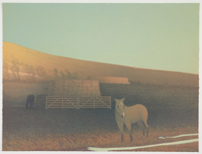 Original RARE Russell Chatham missing print from Missouri Headwaters PERFECT