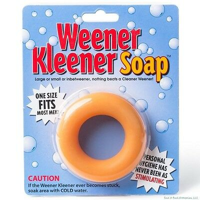 Weener Kleener Soap Weiner Cleaner - Joke Gag Gift Party Adult Gag Prank