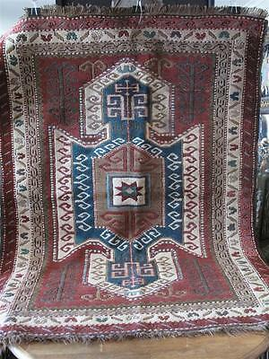 Old Turkish Rug …great pattern and colour...