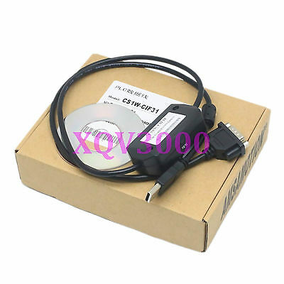 Programming Cable For CS1W-CIF31 CS1WCIF31 omron PLC USB to RS232 Conversion