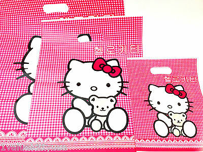 3 X HELLO KITTY GIFT BAGs GREAT GIFT ACCESSORY   **US SELLER**