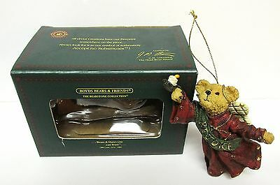 "Boyd's #257023 - ""Joyce Angelbeary"" Christmas Ornament - 1ST EDITION MINT in BOX"