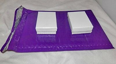 30 New Purple Poly Bubble Mailers,6x9 Bubble Padded Mailing Shipping Envelopes