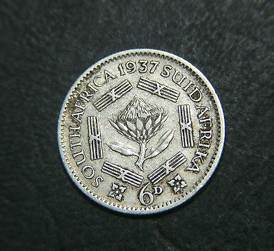 1937 South Africa 6d