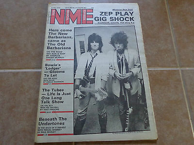 Keith Richards_NME MAGAZINE 26th May 1979_ships from AUSTRALIA!