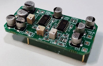 Sonic Imagery Labs 312A Voltage Controlled Amplifier VCA Compressor Upgrade