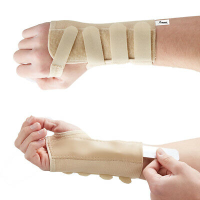 Actesso Wrist Support Brace for Carpal Tunnel, Sprain, Arthritis CTS Splint Pain