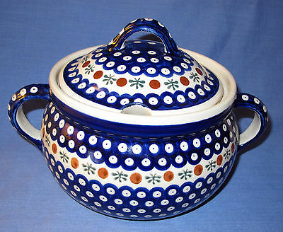 Boleslawiec Polish Pottery Soup Tureen
