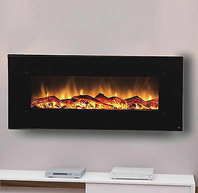 Built in inline electric fireplace