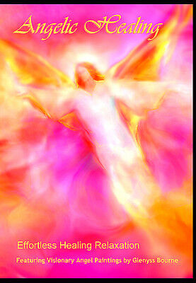 """""""Angelic Healing"""" Visual Meditation DVD featuring Angel Art by Glenyss Bourne"""