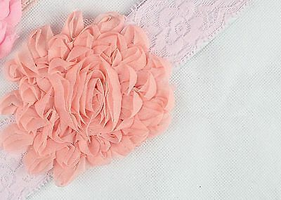 1PC Baby kid Girl Toddlers christening Adorable Flower headband bows hair band
