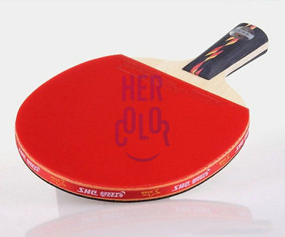Ping Pong Table Tennis Racket Paddle Bat DHS 4002 4 star NEW