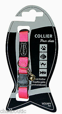 Collier chat Basic line Rose - 30 cm (124942ROS)