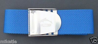 Scuba Snorkelling Blue Weight Belt with Stainless Steel Buckle WIL-WB-02Bl