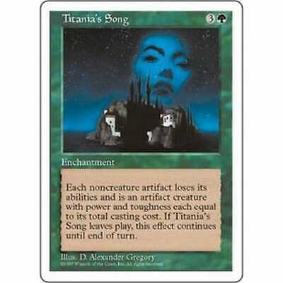 MTG FIFTH EDITION (5TH) * Titania's Song