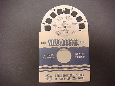 Sawyer's Viewmaster Reel,White Mountains,New Hampshire,265,Ammonoosuc Falls