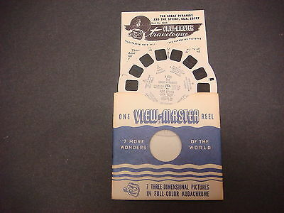 Sawyer's Viewmaster Reel,1950,Washiington,D.C. II,U.S.A.,137,Jefferson Memorial