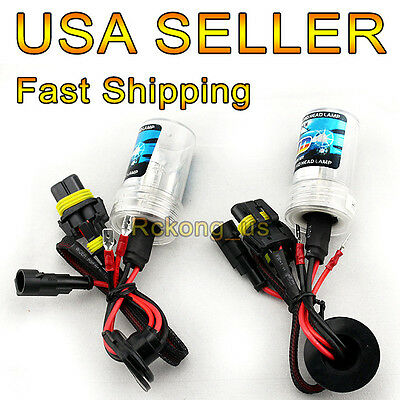 9005 9006 9007 H1 H3 H7 H11 H8 H10 H13 3000k - 12000k Car XENON HID Bulbs Beam