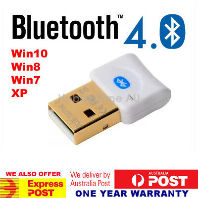 USB 2.0 Bluetooth V4.0 Dongle Wireless Adapter PC Laptop 3Mbps Speed A2DP EDR