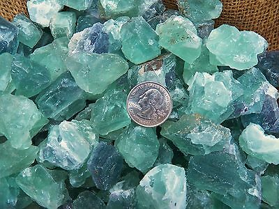 1000 Carat Lots of Green Flourite Rough - Plus a FREE Faceted Gemstone