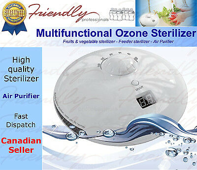 Ozone generator baby feeder sterilizer fruit vegetable sterilizer air purifier