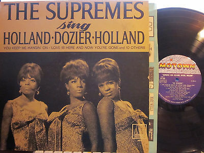 ► Diana Ross and the Supremes - Sing Holland-Dozier-Holland  (Motown 650) (Mono)
