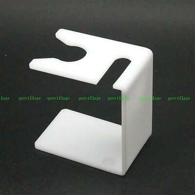 White Drip Stand Holder For Shave Brush Double Edge Safety Straight Razor Knife