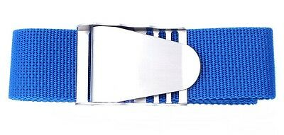 Scuba Snorkelling Weight Blue Belt with Stainless Steel Quick Release Buckle