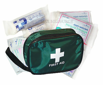 Home & Vehicle FIRST AID KIT, Travel Car Van, Holiday, Sport, Bike, Work, Office