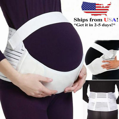 Maternity Support Abdomen Waist Belt Pregnant Pregnancy Belly Back Brace Band XL