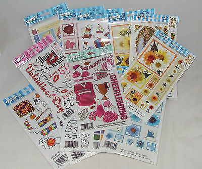 E-Z Rub On Acid Free Transfers / Stickers Various Designs -By Royal & Langnickel