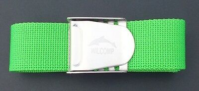 Scuba Snorkelling Green Weight Belt with Stainless Steel Buckle WIL-WB-02G