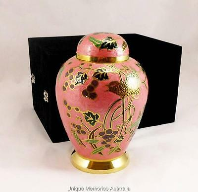 Adult Solid Brass Spirit of Nature Memorial Cinerary Cremation Funeral Ashes Urn