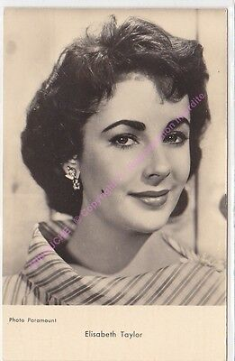 CPSM RPPC STAR ELISABETH TAYLOR PHOTO PARAMOUNT  Edit P.I. KORES n1