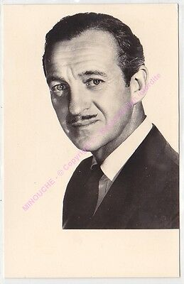 CPSM RPPC STAR DAVID NIVEN   PHOTO SAM  LEVIN  Edit P.I. KORES