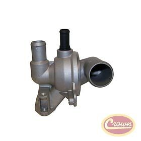 Jeep Cherokee KJ Diesel 2.8 Thermostat & Housing Assembly #5072705AB