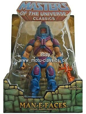 Man-E-Faces 2nd  2. AUFLAGE  Masters of the Universe® Classics He-Man MOC NEU