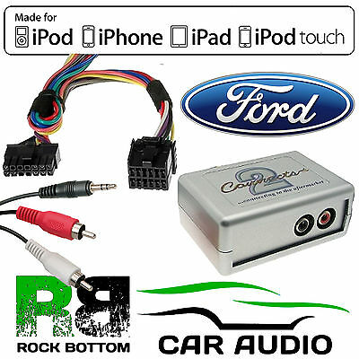 CTVFOX001 Ford Focus 1998-04 Car Aux In Input MP3 iPhone iPod Interface Adaptor