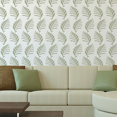 Leaves Wall Stencils Reusable foliage Stencils for DIY Decor Better than Decals