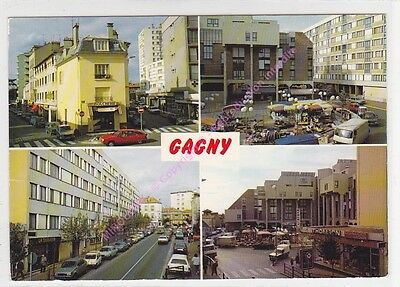 CPSM 93220 GAGNY Multivues 4 vues  Edt  ABEILLE ca1989