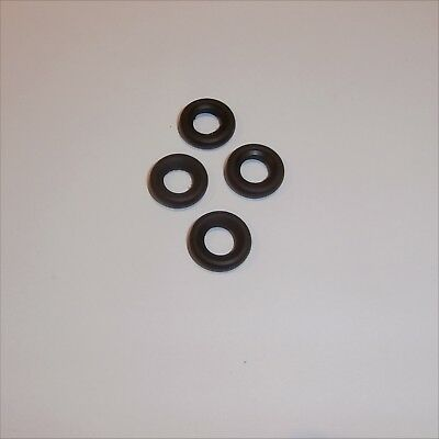 Dinky Toys Tires Early Sedan 1930 to 1960 models 4 smooth Black Tyres Pack #1