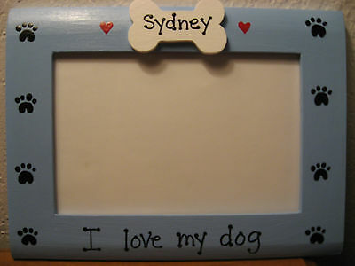 Personalized I Love My Granddogs Pet Photo Picture Frame