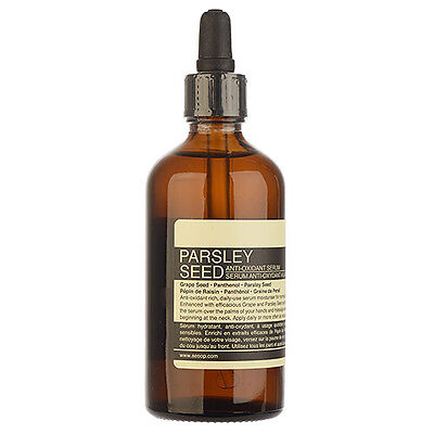 1 PC Aesop Parsley Seed Anti-Oxidant Serum 100ml Skincare Anti-Aging NEW #8556