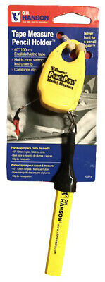 CH Hanson 10579 Retractable Pencil Pull w/ Measuring Tape